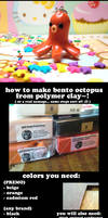 Bento Ocotpus CLAY Tutorial :D