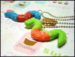 Sour Gummi Worm Necklace