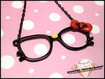 Nerdy Hello Kitty Necklace