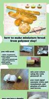 Miniature Clay Bread TUTORIAL