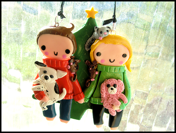 Custom Christmas Ornament by GrandmaThunderpants