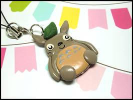 Totoro Mobile Strap by GrandmaThunderpants