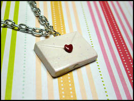 Love Letter Necklace -- GET THE CHARM FREE by GrandmaThunderpants