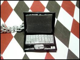 Black Laptop Necklace by GrandmaThunderpants