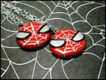 Spiderman Necklaces