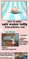 Polymer Clay Salt Water Taffy Tutorial