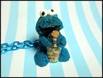 Cookie Monster Necklace