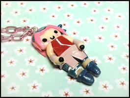 Sakura Necklace by GrandmaThunderpants