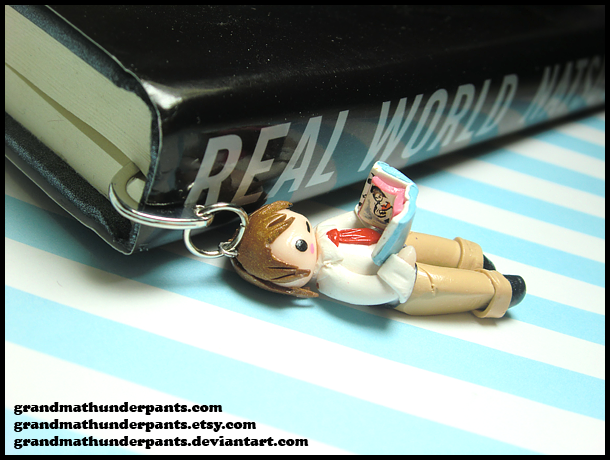 Light Yagami Bookmark by GrandmaThunderpants