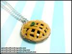 Blackberry Pie Necklace