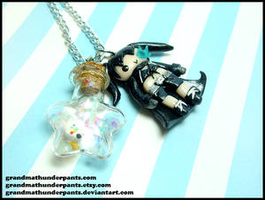 BRS + Many Colored Bird Necklace