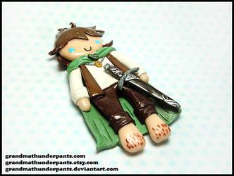 Frodo Charm by GrandmaThunderpants