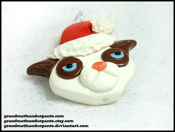 Grumpy Cat Ornament by GrandmaThunderpants