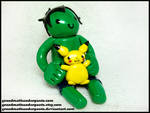 Hulk + Pikachu Figure