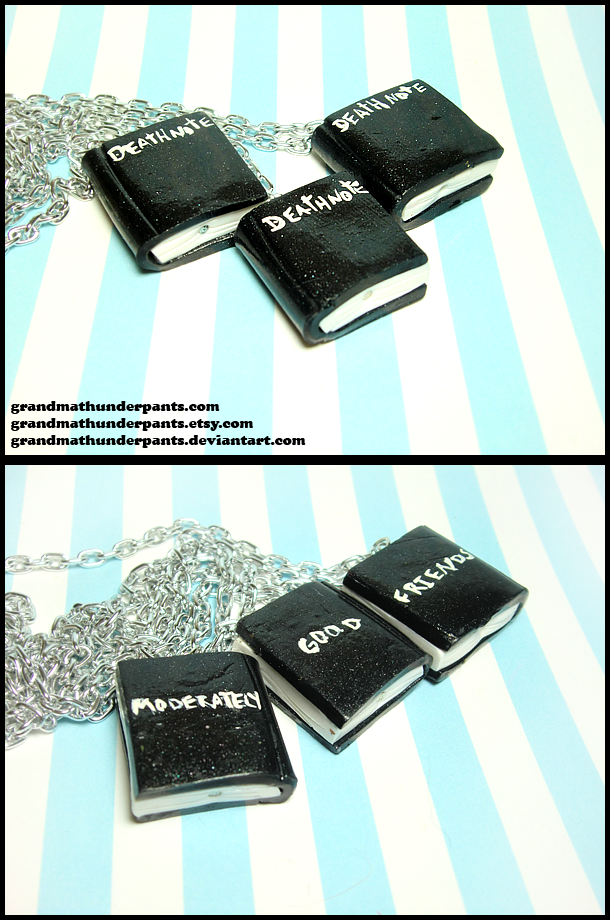 DeathNote BFF Set by GrandmaThunderpants