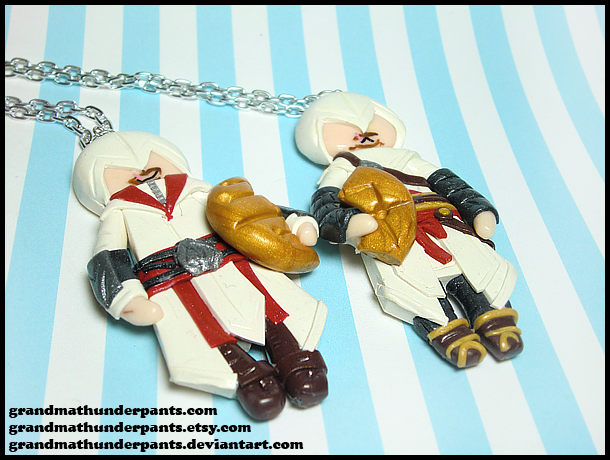 Altair + Ezio BFF Set by GrandmaThunderpants