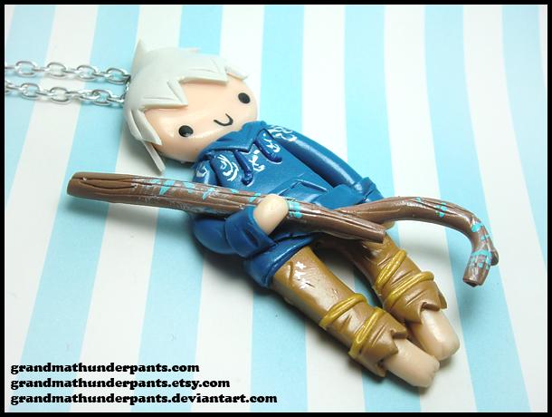 Jack Frost Necklace by GrandmaThunderpants