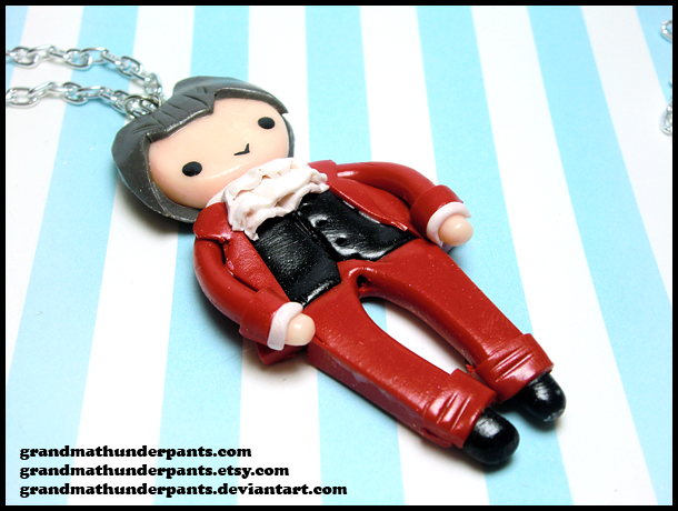Edgeworth Necklace by GrandmaThunderpants