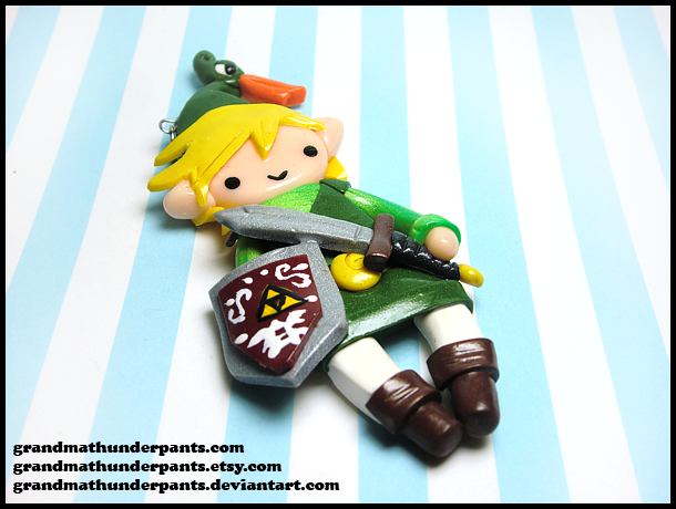 minish cap link charm by grandmathunderpants on deviantart