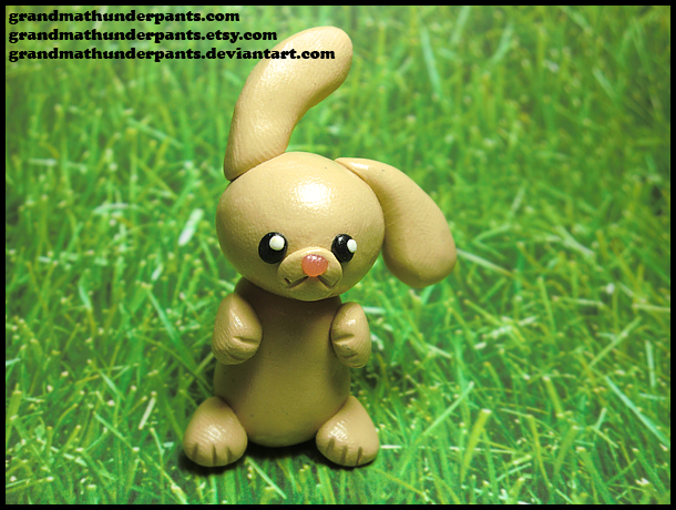 Limited Edition FREE Bunny Figure by GrandmaThunderpants