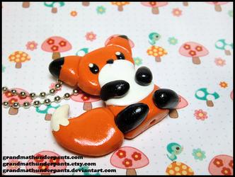 Fox Necklace by GrandmaThunderpants
