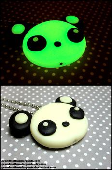 Glowing Panda Necklace