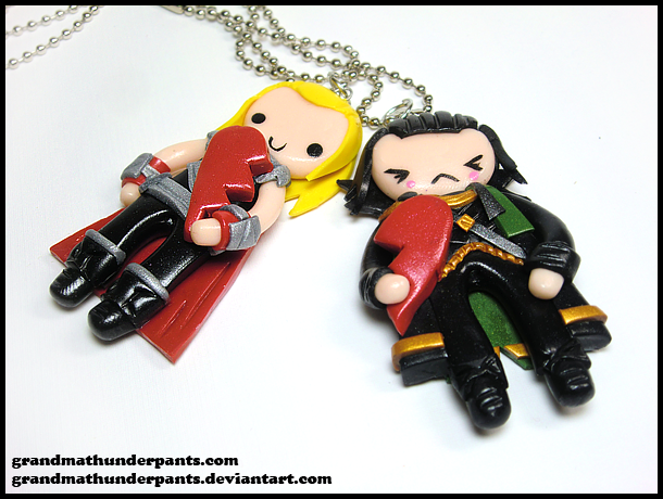 Thor/Loki BFF Set Update by GrandmaThunderpants
