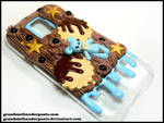 Blue Bear S5 Case by GrandmaThunderpants