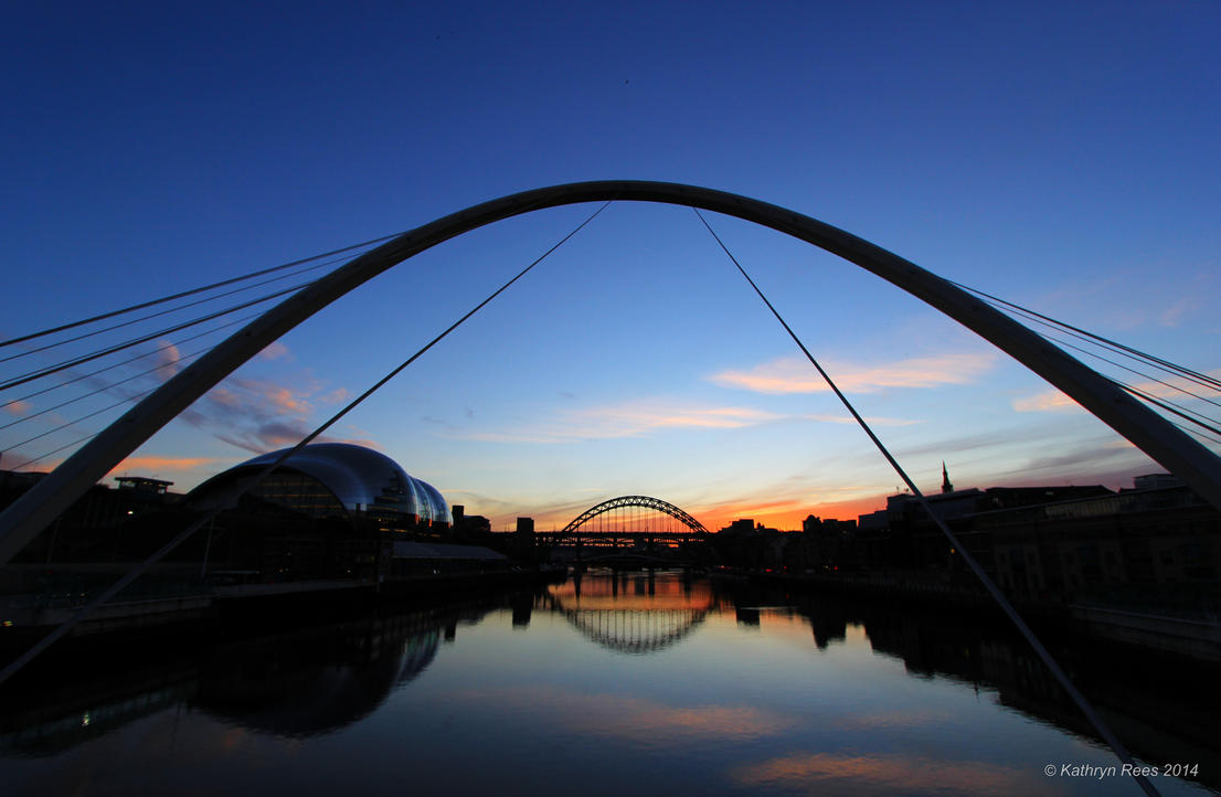 Quayside Sunset III by KERphotography