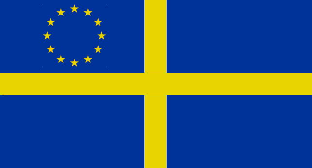 EU / European  Sea Flag by YulianEruannoNoldor