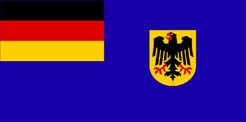 Sea Flag for German Service with CoA by YulianEruannoNoldor