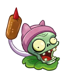 Zombie Cattail(pvzH) by Quifang