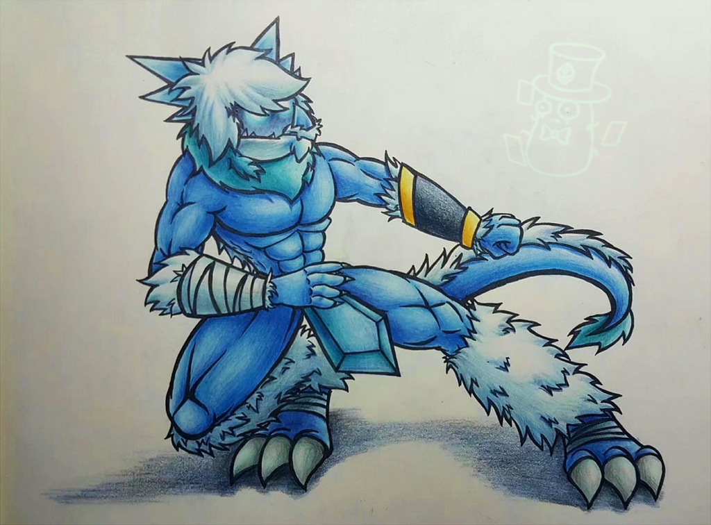 Cold Snapdragon(Furry) by Quifang