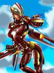 Overwatch x Avenger: Iron Pharah