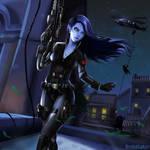 Overwatch x Avenger: Black Widowmaker