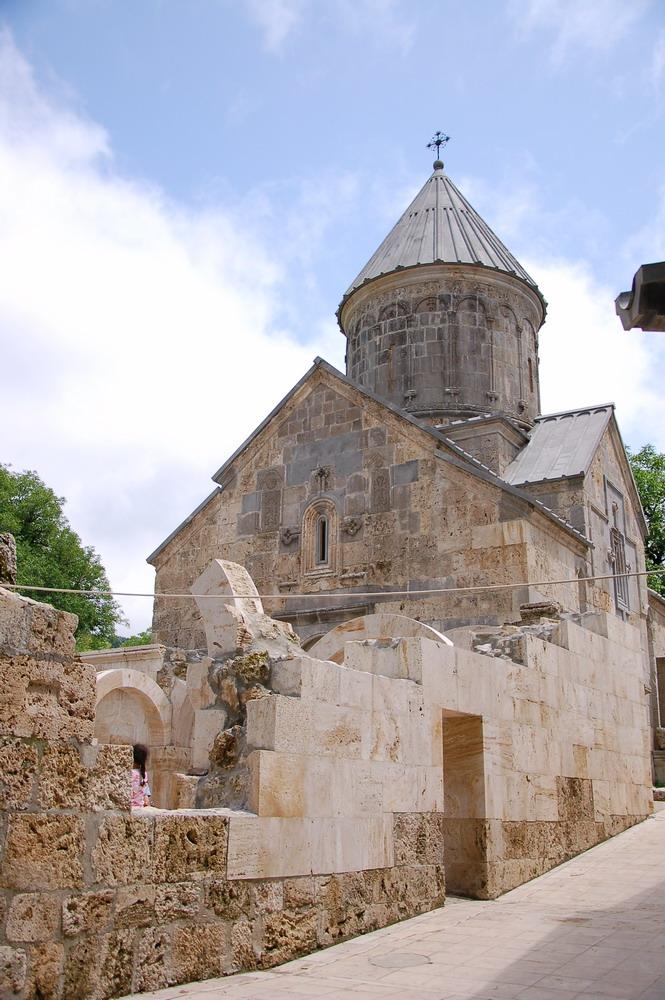 Haghartzin monastery ensemble. by Karapetyan