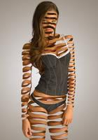 Candice Swanepoel mc escher by vinzdream2006