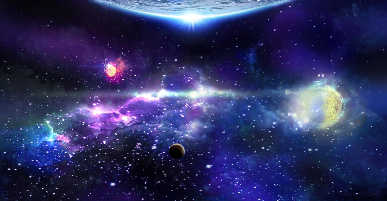 Espace Lointain  Far space by vinzdream2006