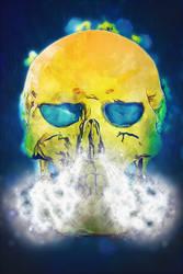 Smiley Skull 05 Steam