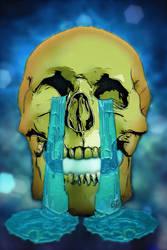 Smiley Skull 06 Sad