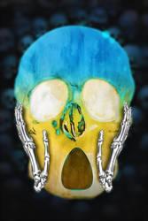 smiley skull 11 Scared