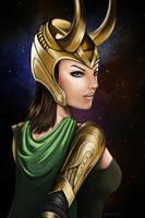Loki genderswap by jaleh