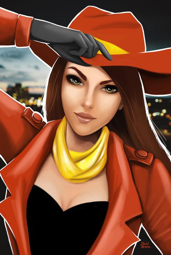 Carmen Sandiego by jaleh on DeviantArt