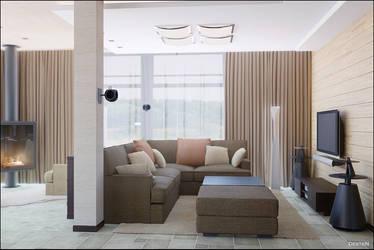 Room 1b.. by DesteN