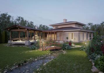 Cottage by DesteN