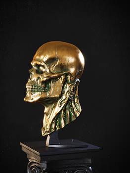 Biomech skull - Bronze