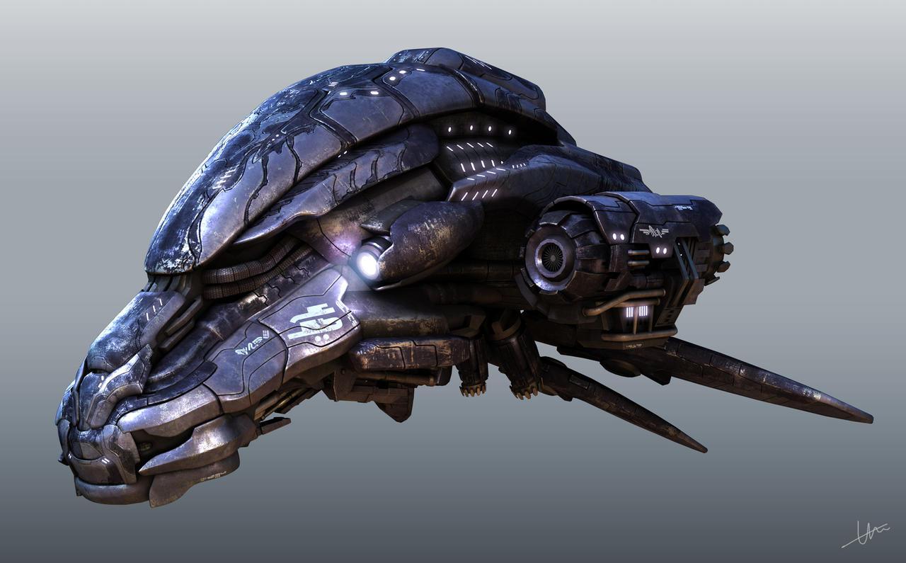 Spaceship by GHCHEW on DeviantArt