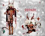 Humanoid Desert Fox Adoptable Auction [CLOSED]