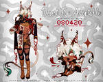 Humanoid Desert Fox Adoptable Auction [OPEN] by AppeI