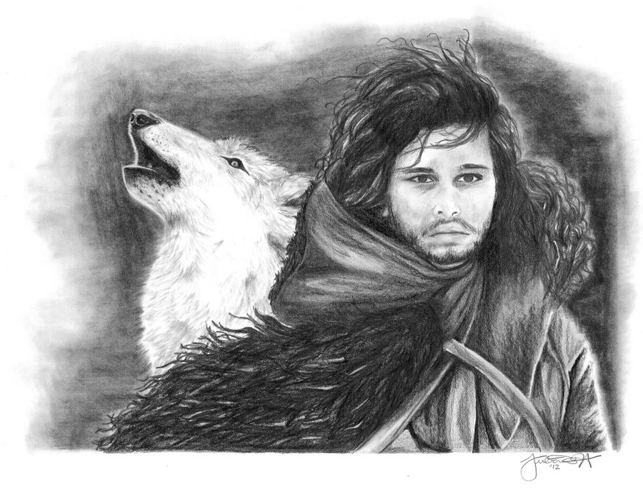 Likovno delo dana - Page 7 Jon_snow_by_juelshaness-d58cywc